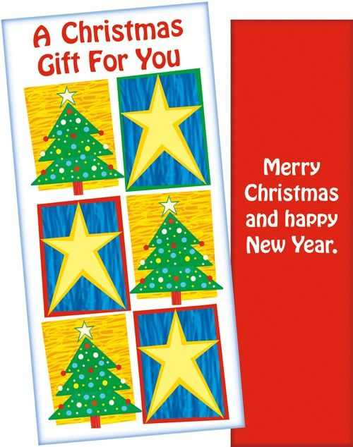 Christmas Moneyholder Merry Christmas And Happy New Year Wholesale Greeting Cards Gift Holders