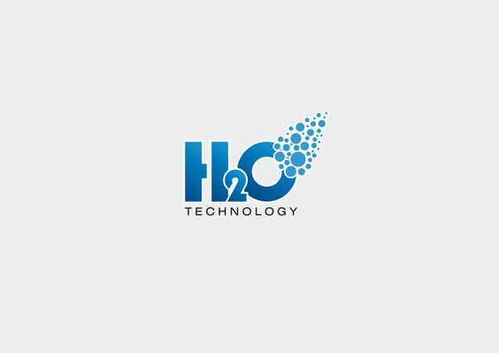H2O Technology - Progetto grafico logo