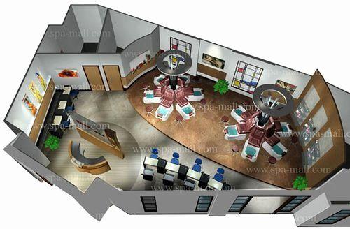 Nail Salon Design Layout Fresh Pedicure Spa Layout Design Inspiration In 2020 Salon Interior Design Pedicure Spa Salon Design