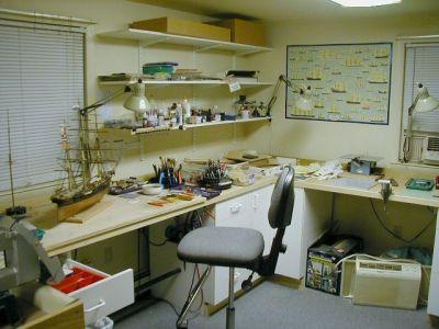Model ship work shop work shop ideas pinterest model for Schreibtisch quincy