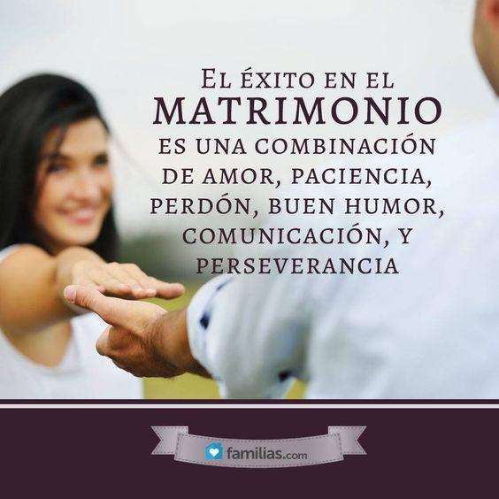Matrimonio De Amor : El éxito en matrimonio es una combinación de amor