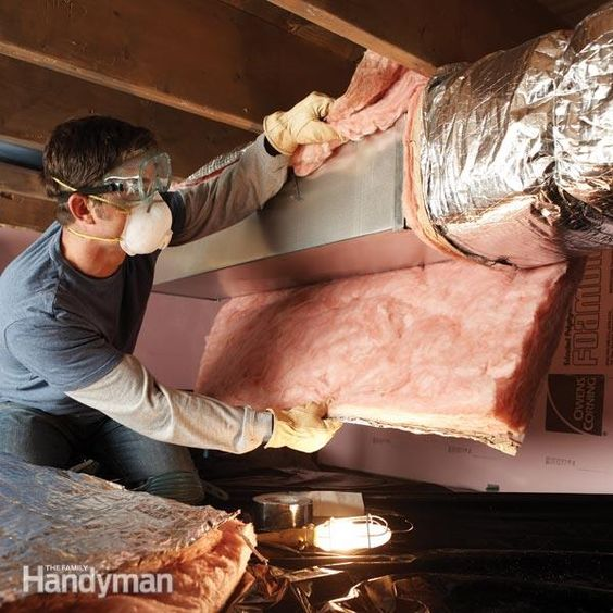 The top 10 tips for saving money at home pinterest for Basement insulation wrap