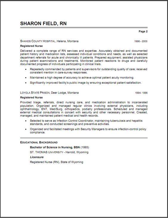 Shatha (shatha999) on Pinterest - psychiatric nurse resume