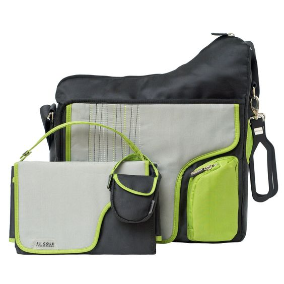 Like this. Im in to the more sporty bags. JJ Cole System Diaper Bag - Graphite Green - Best Price