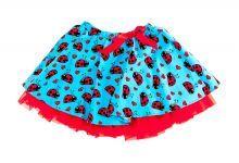 Φορέματα - Ρούχα Για Κορίτσια Για Πάρτι - Εκδύλωση :: Jelly Bean Kids Collection 2014 :: Jelly Bean Kids Εντιπωσιακή Καλοκαιρινή Φούστα με Εμπριμέ Πασχαλίτσες - MEMOIRS Νυφικά και Γυναικεία Φορέματα