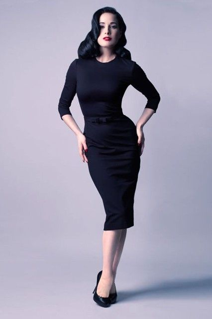 DITA VON TEESE says that the way she created her debut dress collection was not dissimilar to the way many designers make their seasonal offerings.