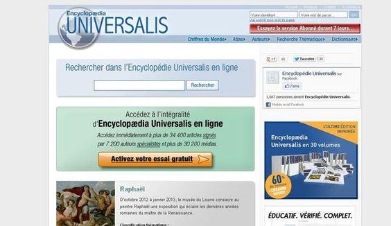 encyclopedie universalis gratuite en ligne