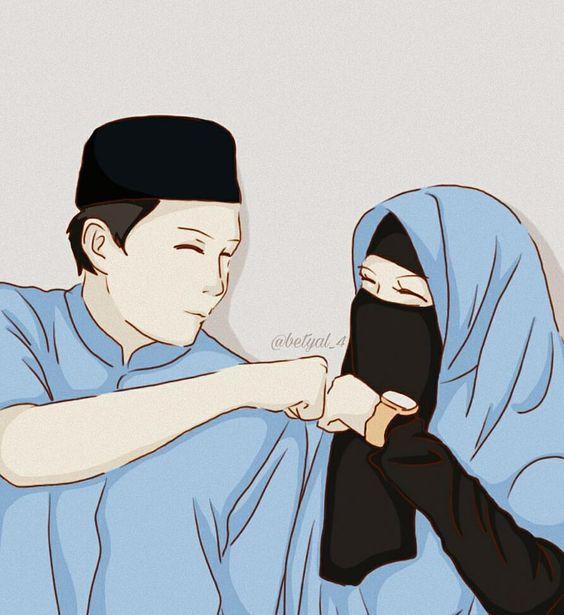 Kumpulan Gambar Kartun Muslimah 19