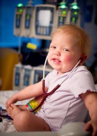 St. Jude's little patient Nichole