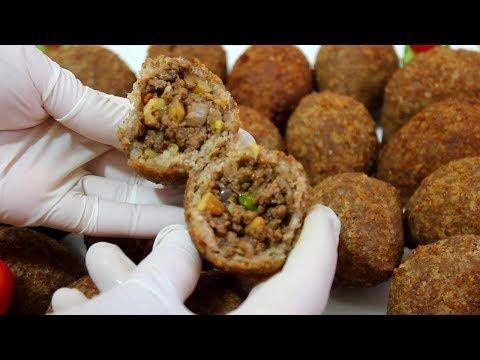 اسرار الكبة المقلية السورية على الاصول وطريقة تفريزها لشهر رمضان 2018 Youtube Eid Food Cooking Recipes