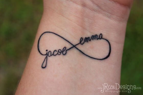Infinity Son Tattoo
