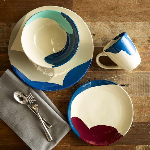 Sydney Studio Multicolor Dinnerware | west elm