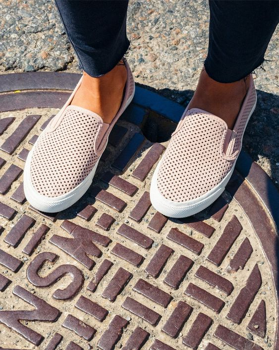 From the sea to the city streets, this perforated Seaside slip-on is perfect for any outfit and every adventure.