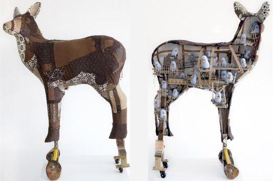 "Tracy Duncan, "" Trojan Deer"""