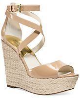MICHAEL Michael Kors Gabriella Platform Wedge Sandals