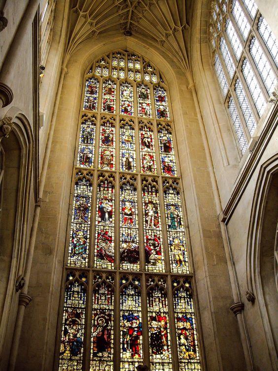 Vidrierias de la Abadia de Bath (Bath - England)