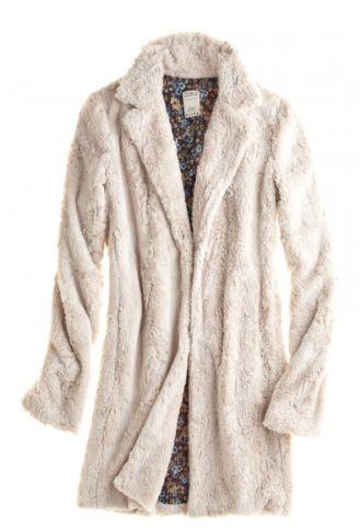 Harlow Faux Fur Coat | #Calypsostbarth