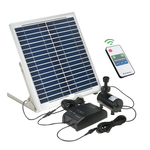 Decdeal Multi Functional Solar Power Fountain 15w Solar Panel 3 6w Brushless Water Pump Kit With Sto Solar Fountain Water Fountain Pumps Solar Water Fountain