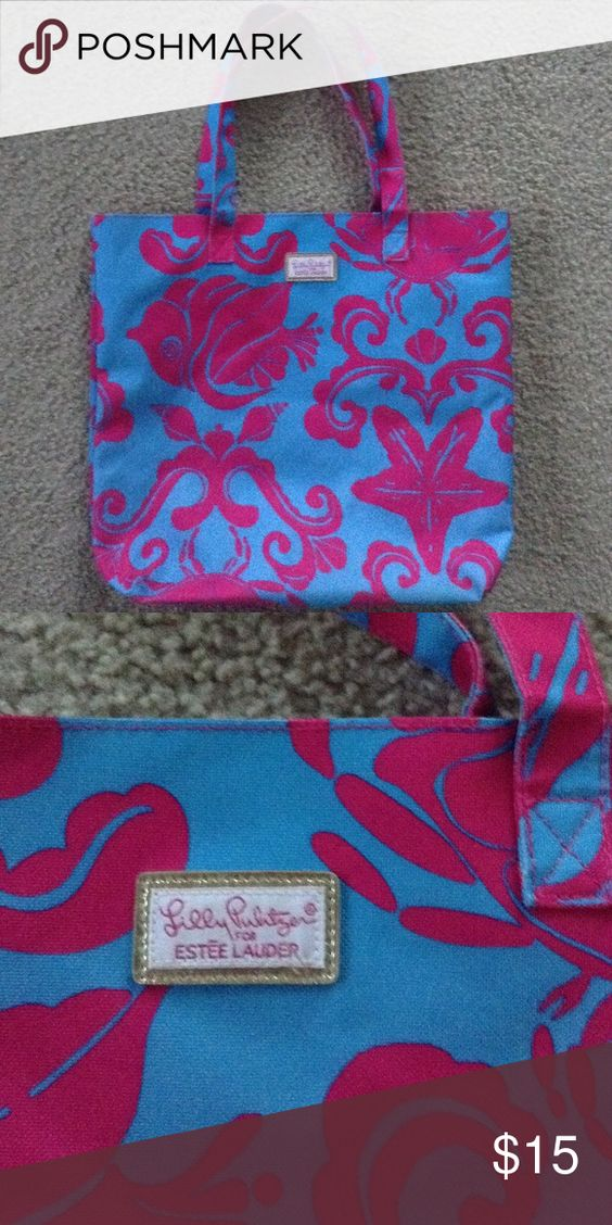 Lily Pulitzer for Estée Lauder In very good condition! Open to trades with this item and open to offers :-) Lilly Pulitzer Bags