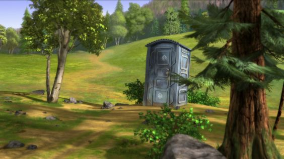 A Port-a-potty - Alpha and Omega Photo (36874147) - Fanpop
