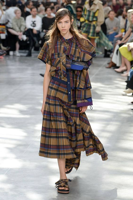 Tendenze moda 2019 - British style tartan