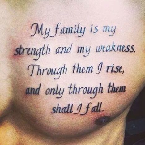 best quote tattoo men