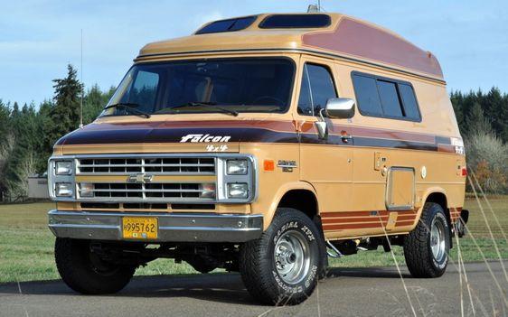 Ready To Play 1989 Chevrolet Falcon 4x4 Van 4x4 Van Chevrolet