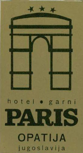 Hotel Paris, Opatija