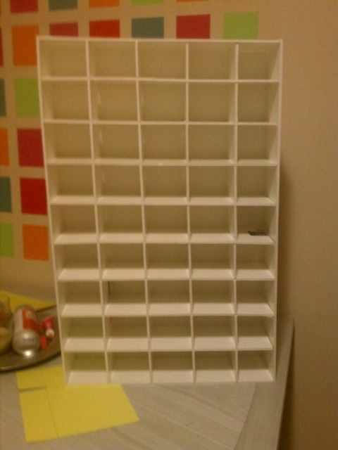 foam board cubbies what a great idea crafts and