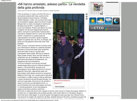 MAFIA CAPITALE E I PROTOCOLLI DI SION :: Paolo Ferraro CDD