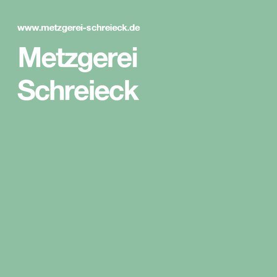 Metzgerei Schreieck