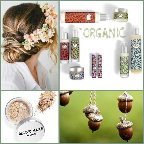 Já conhecem os nossos produtos orgânicos?  Organic M.A.K.E - cosmética orgânica para limpeza e tratamento do rosto e  pós minerais para uma maquilhagem natural  em www.glamssecret.com