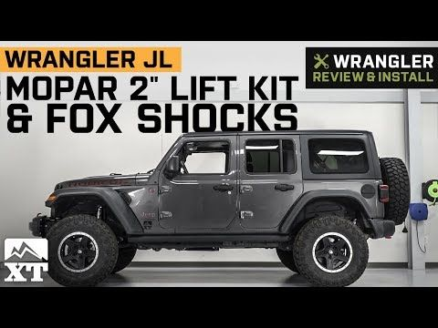 Free Shipping Improved Clearance Thanks To Mopar S 2 Inch Lift Kit With Fox Shocks You Ll Finally Be Able To Enhance Your 2018 Lifted Jeep Mopar Wrangler Jl