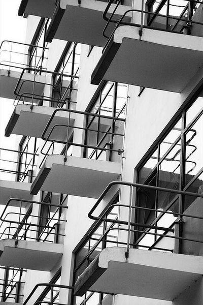The Bauhaus School Of Design Dessau Germany 1925 1926