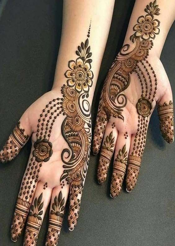 latest mehndi design images