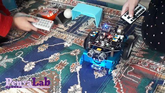 Juguem a futbol amb els robots mBot i Edison