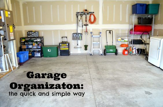 Garage Organization: the quick and simple way #fasttrack #pmedia #ad
