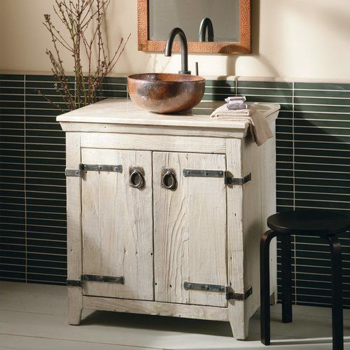 Native Trails 30 Inch Americana Hand Crafted Five Piece Wash Suite White Bnda01 Rustic Bathroom Vanities Bathroom Vanity Designs Farmhouse Bathroom Vanity