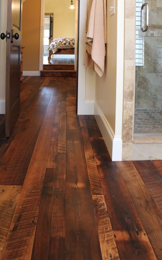 Our favorite bright bold bathrooms beautiful the floor for Price of reclaimed barn wood