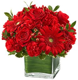 Looking for a splash of red in your home? http://www.bestflowers.com/:
