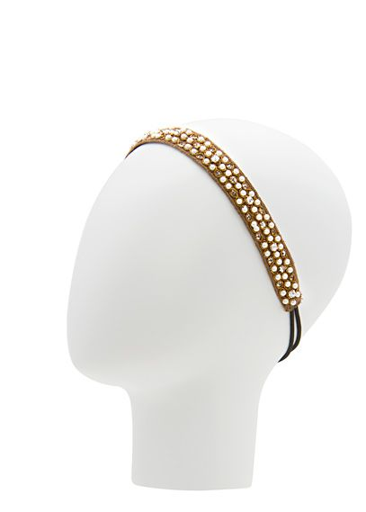 MANGO - TOUCH - Beads pearls headband