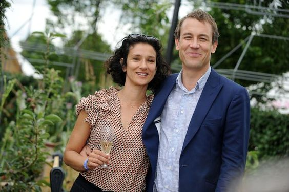 Indira Varma, who portrays Ellaria Sand in Game of Thrones, and Tobias Menzies
