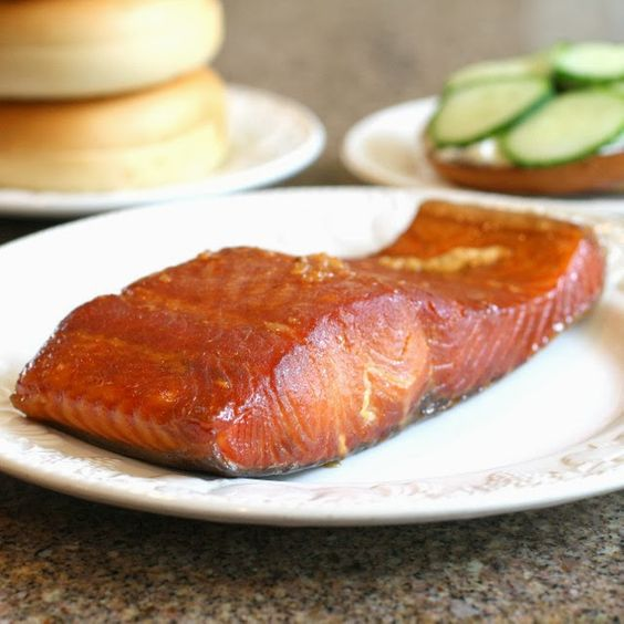Savoury Table: Finally Some Salmon I Really Like: Brown Sugar Brined Smoked Salmon