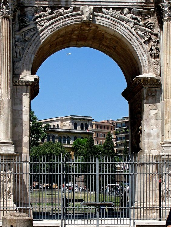 Ancient Roman Arch, Rome