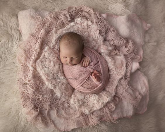Beautiful layered newborn image erin elizabeth