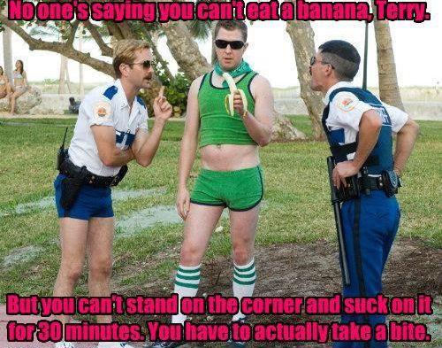 Damn you terry. (I love Reno 911)