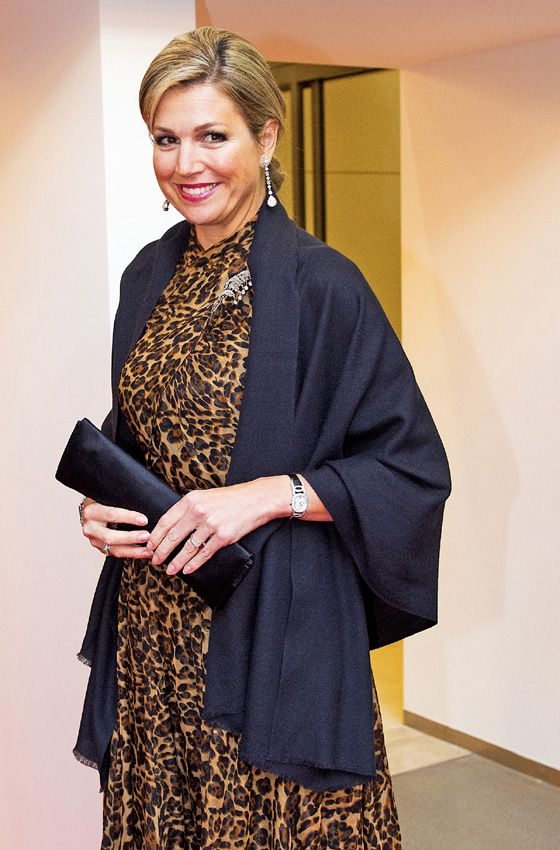 Máxima de Holanda y su colección de vestidos con estampado animal | Moda,  Maxima de holanda, Reina máxima