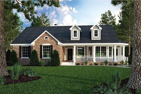 Cottage Style House Plan 1 Beds 1 Baths 808 Sq Ft Plan 935 9 Ranch House Plans Ranch Style House Plans Craftsman House Plans