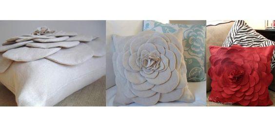 Rosa lilás | Faz a tua almofada-flor! | http://rosalilas.net