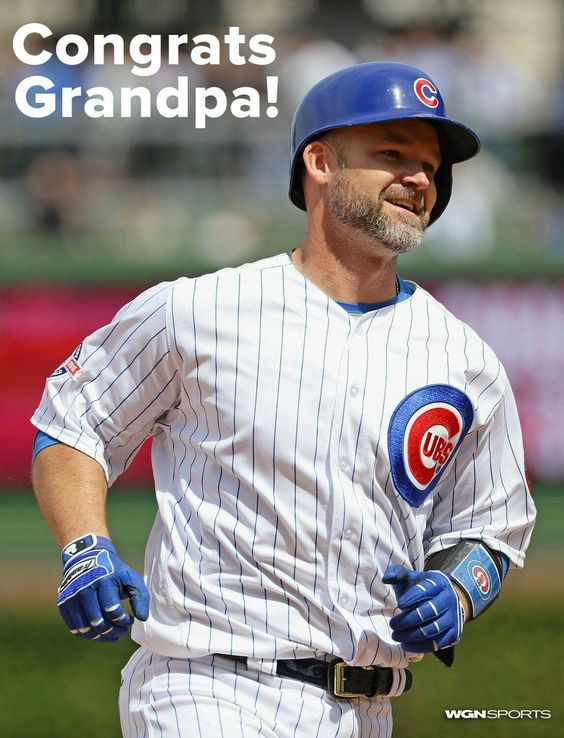 Congratulations David Ross, aka GRANDPA, on your 100th career home run. The Chicago Cubs are lucky to have you!